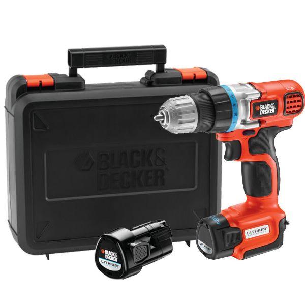 Akumulatorska bušilica / šrafilica Black & Decker EGBL108KB 10.8 Li-Jon (EGBL108KB)