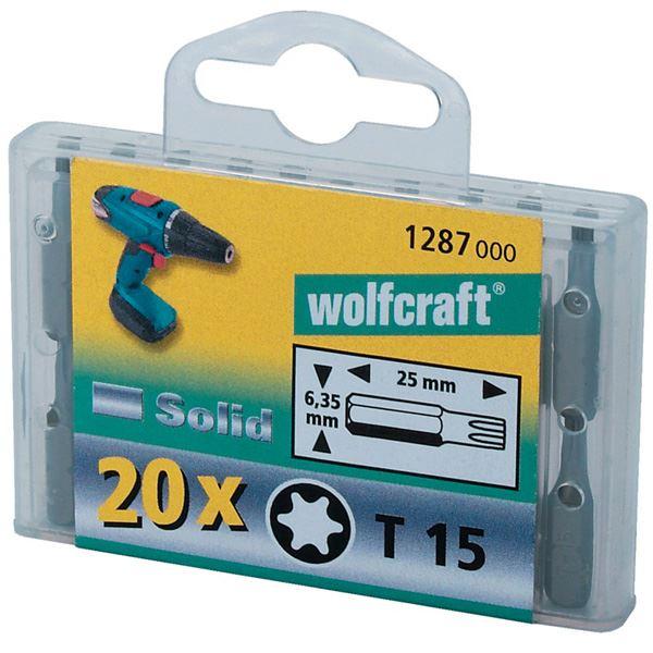 Bit nastavak PZ 2,( 20 ) kom. - 1284000, Wolfcraft (1284000)