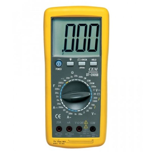 CEM digitalni multimer - DT-2005 B (DT-2005B)
