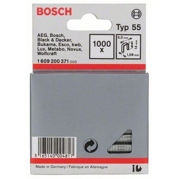 Spajalica sa uskim leđima tip 55 Bosch 1609200371, 6 x 1,08 x 14 mm (1609200371)