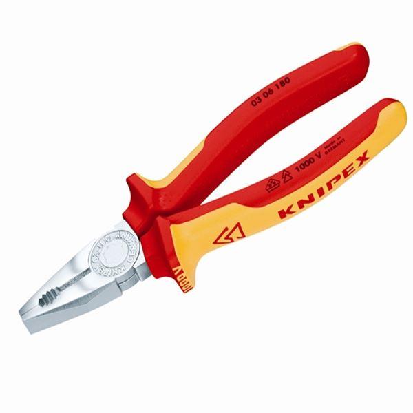 Knipex komb.izol.klešta 180mm - 03 06 180 (03 06 180)