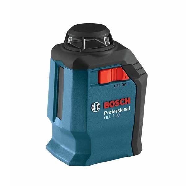 Samonivelišući linijski laser Bosch GLL 2-20 , 360° u koferu (0601063J00)
