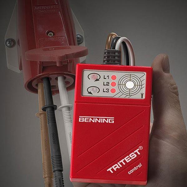 Benning Tritest Pro control tester redosleda faza (Tritest Pro control)