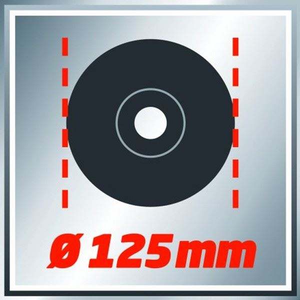 Ugaona brusilica Einhell TC-AG 125, 125mm, 850W (4430619)