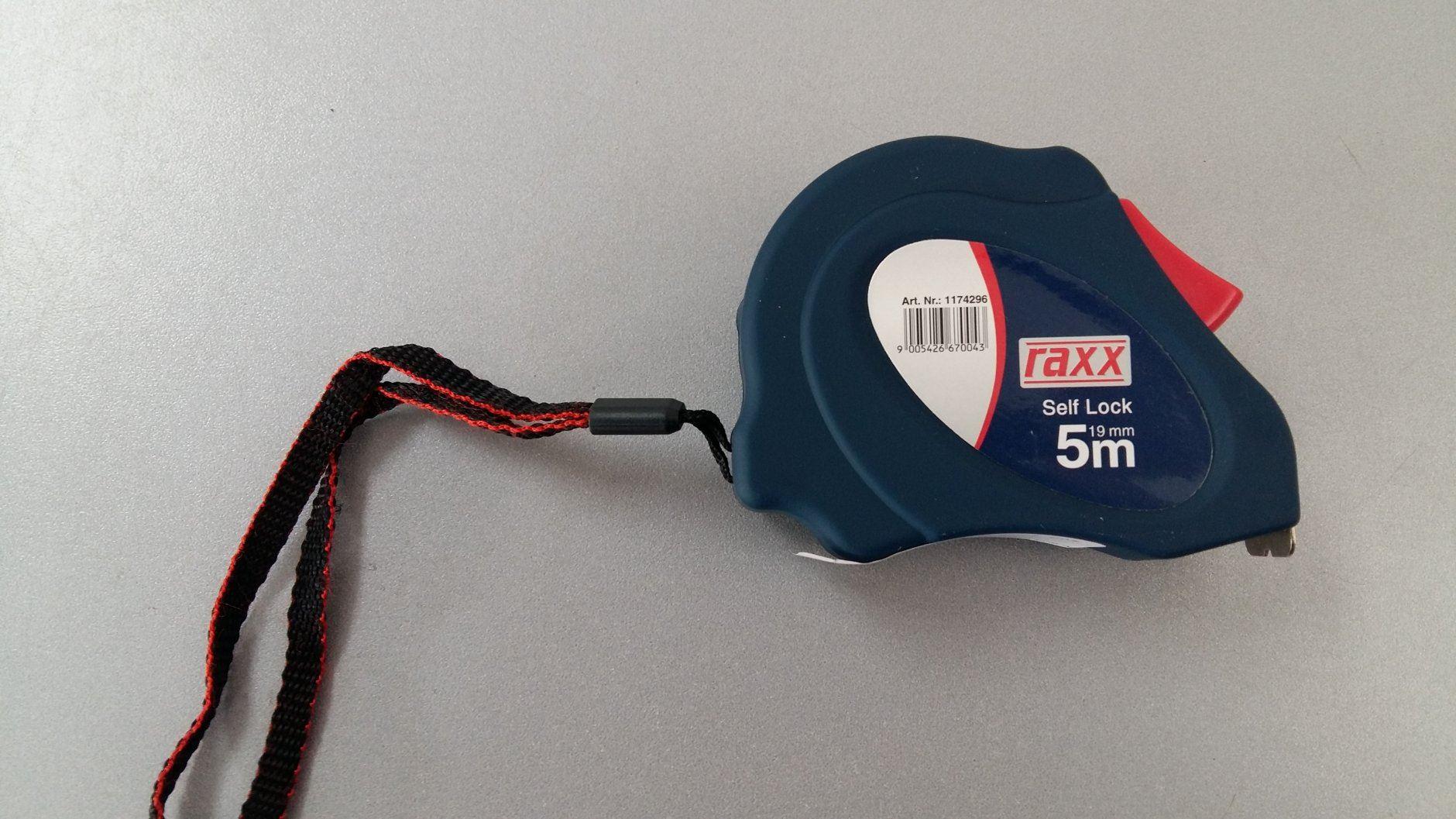 Metar Raxx Self Lock 5m, širina trake 19mm (RAXX 1174296)