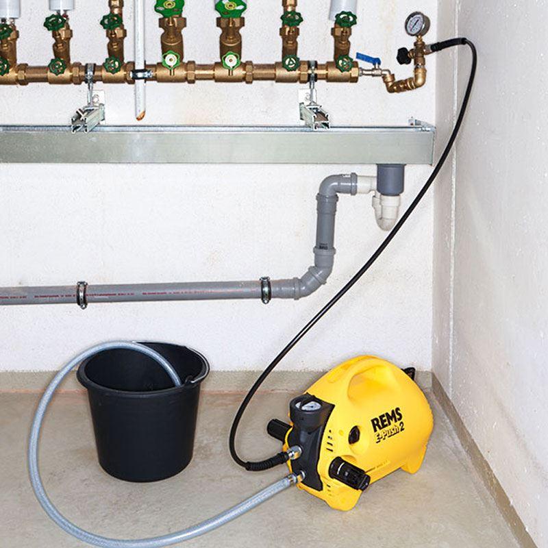 Pumpa za testiranje sistema grejanja i rezervoara REMS E-Push 2 (REMS 115500)
