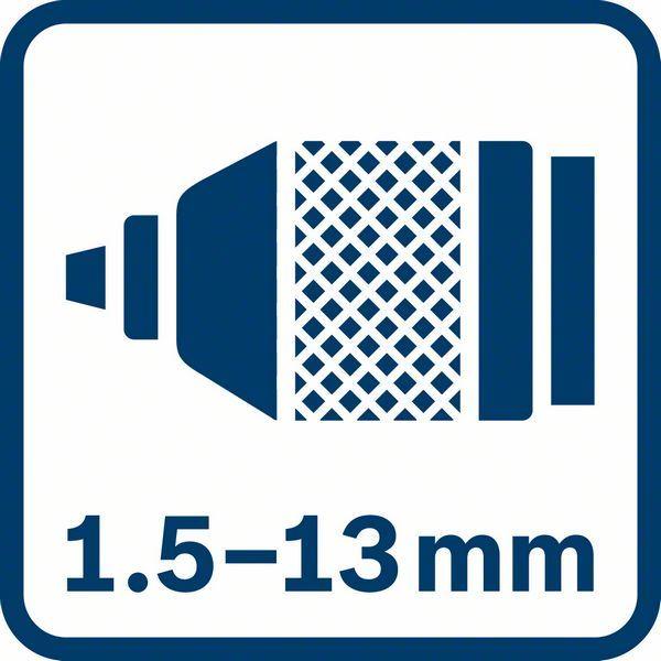 Akumulatorska bušilica - odvrtač Bosch GSR 18V-50 , 2x2,0Ah (06019H5000)