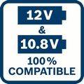 Akumulatorska bušilica - odvrtač Bosch GSR 12V-30 , 2x2.0Ah (06019G9000)