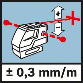 Kombinovani laser linije i tačke Bosch GCL 25 + BT 150 (0601066B01)