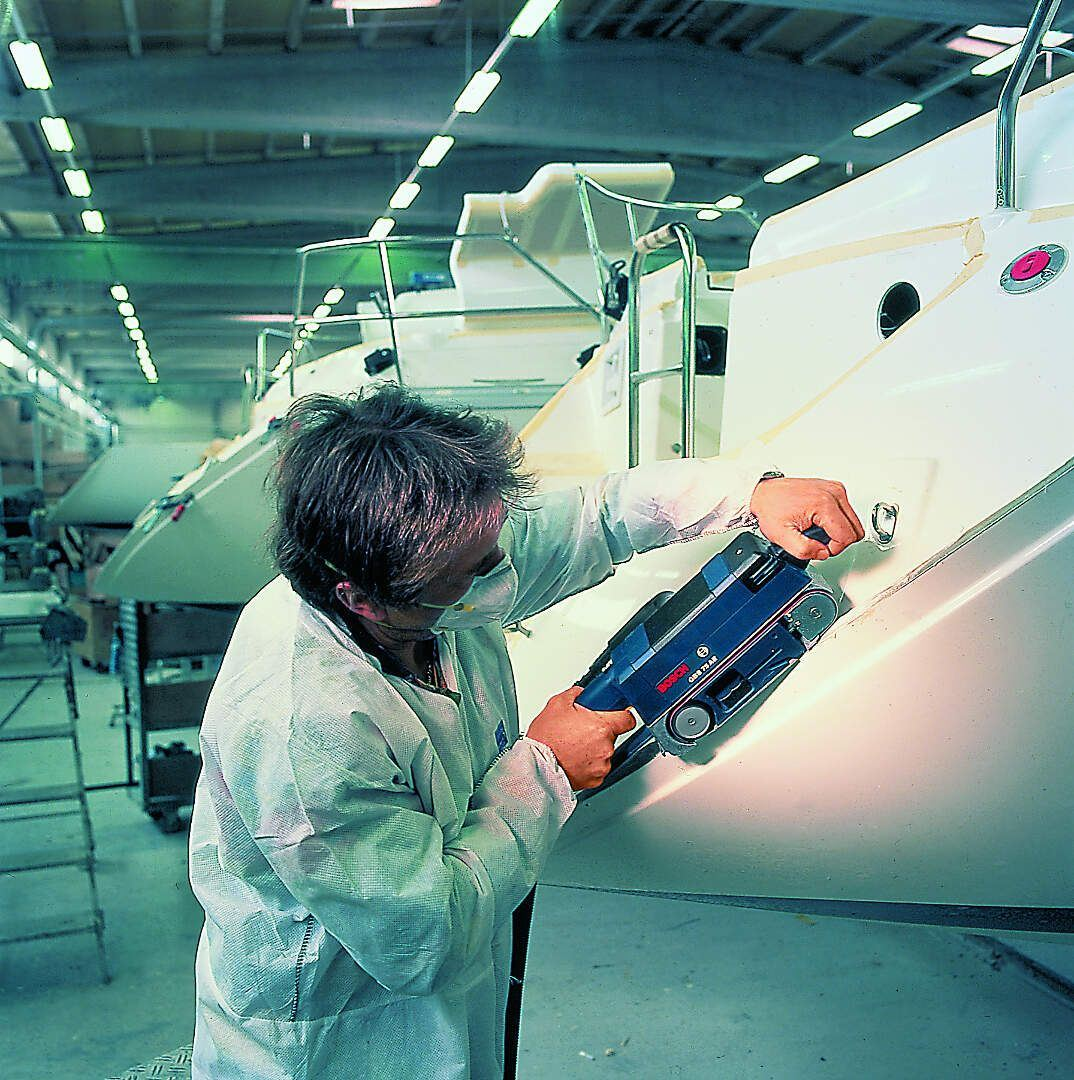 Tračna brusilica Bosch GBS 75 AE, 750W (0601274708)