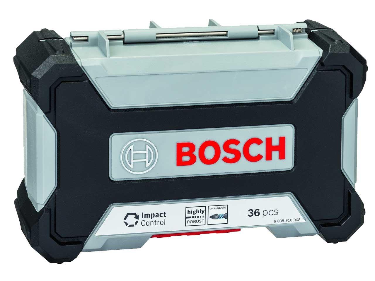 Set bitova i nasadnih ključeva Bosch 2607017597 Impact Control, 36 delova + stolica na naduvavanje (2607017597)